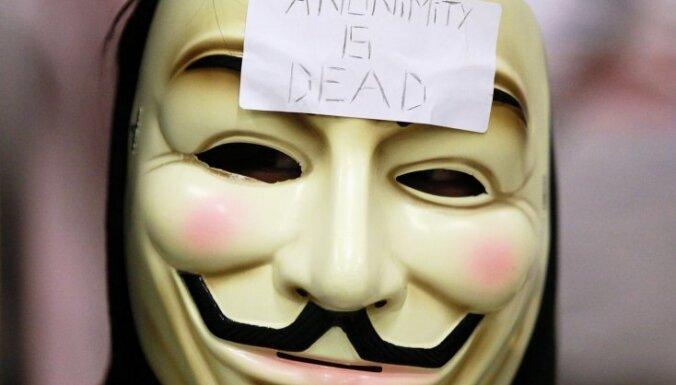 'Anonymous' hakeri uzbrukuši Interpola interneta vietnei