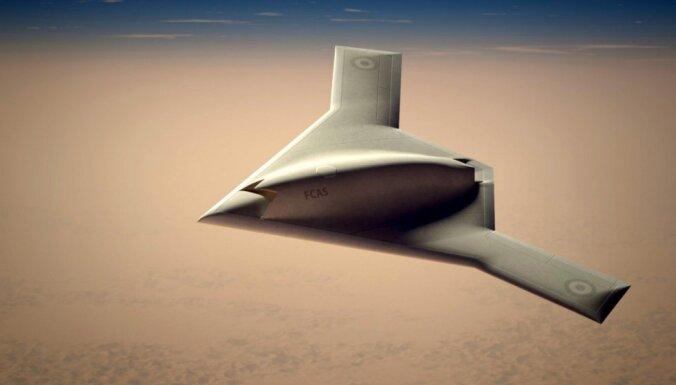 Foto: Eiropas jaunais drons veiks uzlidojumus pirms uzlidojumiem