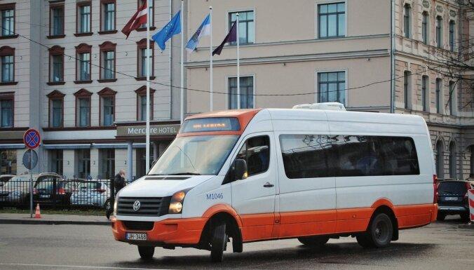 Rīgas mikroautobusu satiksme готово помочь разгрузить общественный транспорт