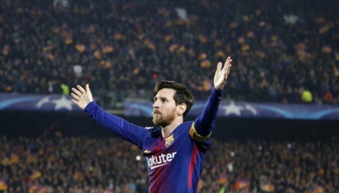 'Forbes' pelnošāko sportistu saraksta galvgalī pirmo reizi trīs futbolisti