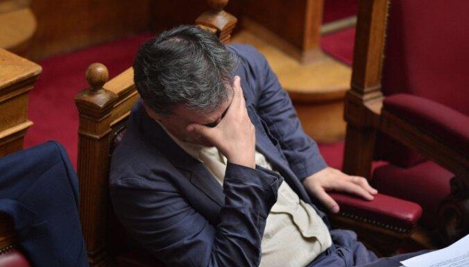 Латвия не поддержит списание долгов Греции и потребует гарантий