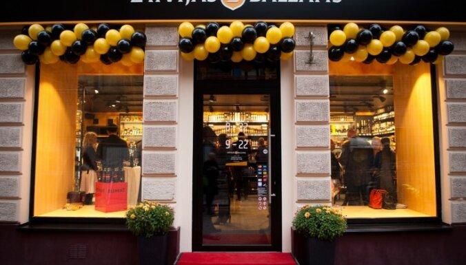 Vecrīgā durvis vērs otrais jauna dizaina 'Latvijas balzama veikals'