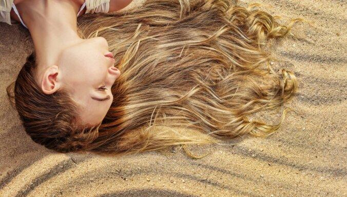 Чтобы волосы были красивыми и блестящими все лето!