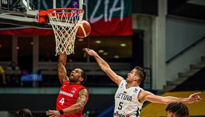 Lietuvas basketbolisti caur adatas aci kvalificējas Eiropas čempionātam