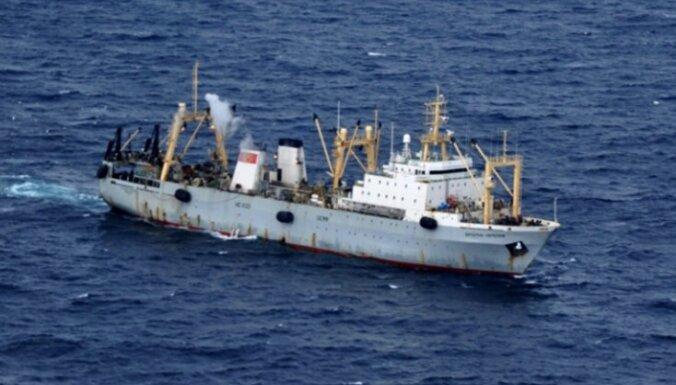 В Японском море исчез российский траулер. На борту был 21 человек
