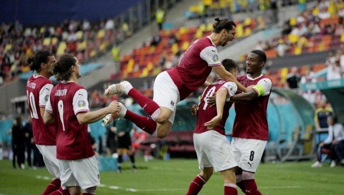 Австрия обыграла Украину и следом за Нидерландами пробилась в плей-офф