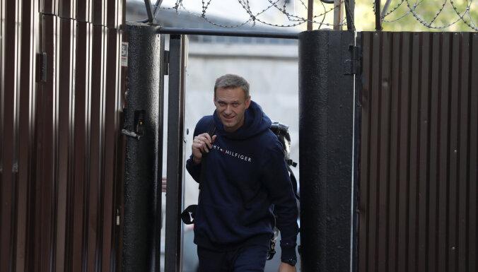Алексей Навальный вышел на свободу после ареста