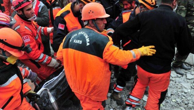 Латвия выделила 50 000 евро жертвам землетрясения в Турции
