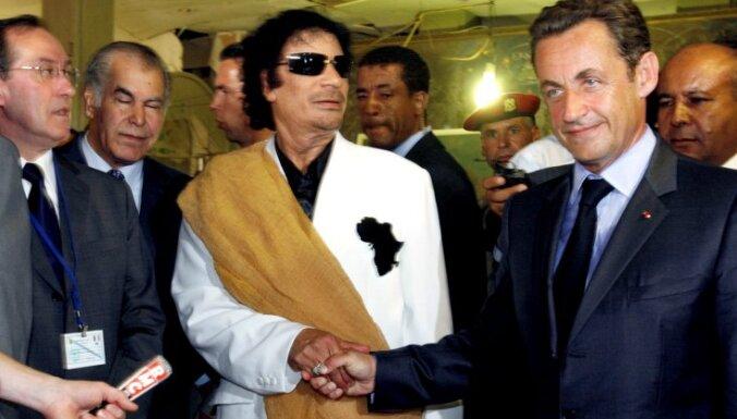 Policija aizturējusi bijušo Francijas prezidentu Sarkozī