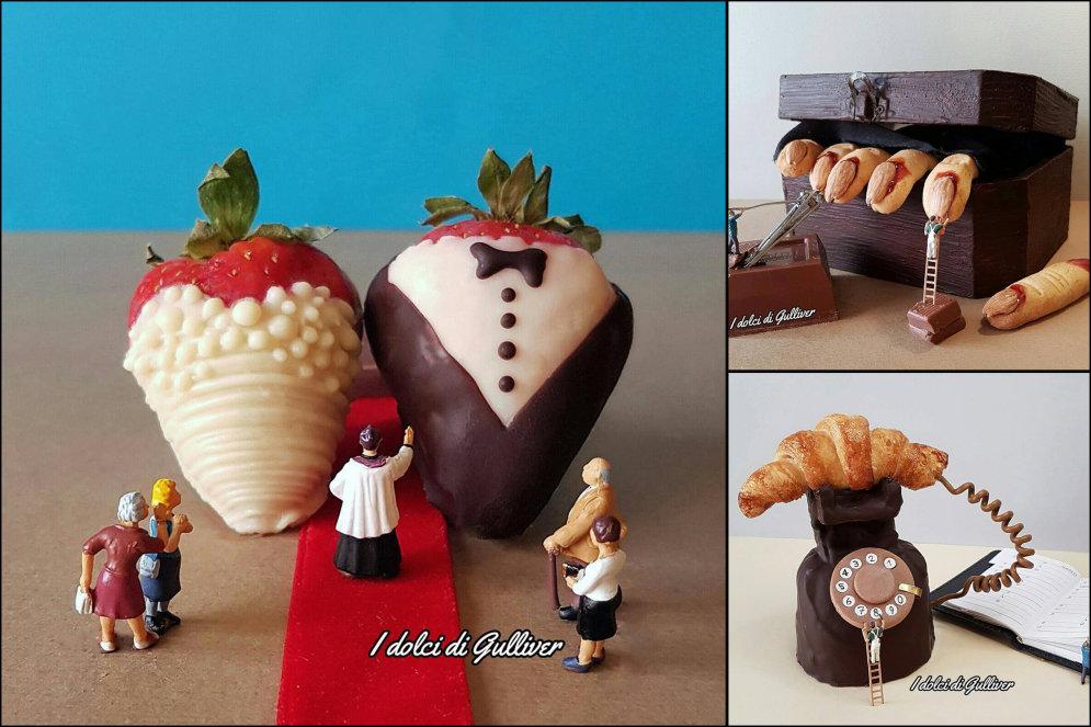 Эти миниатюрные десерты итальянского шефа невероятно жалко есть