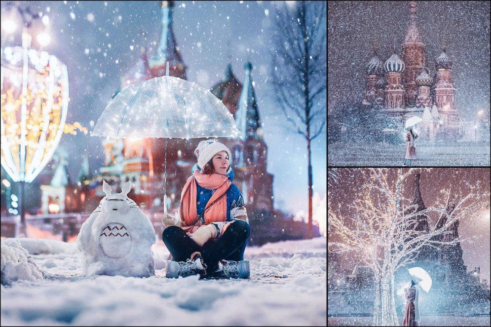 ФОТО снегопада в Москве от крутости которых мурашки побегут даже у законченных циников