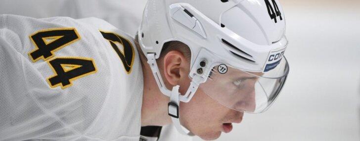 Kuldas pārstāvētā 'Severstaļ' piedzīvo zaudējumu pret KHL līderi