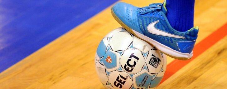 'Raba' telpu futbola klubam piespriedīs sodu par prezidenta izskriešanu laukumā