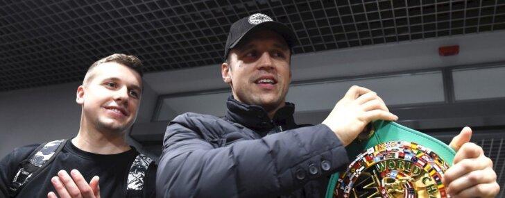 Supersērijas rīkotāji novērtēja Latvijas līdzjutējus, secina boksera Brieža pārstāvis