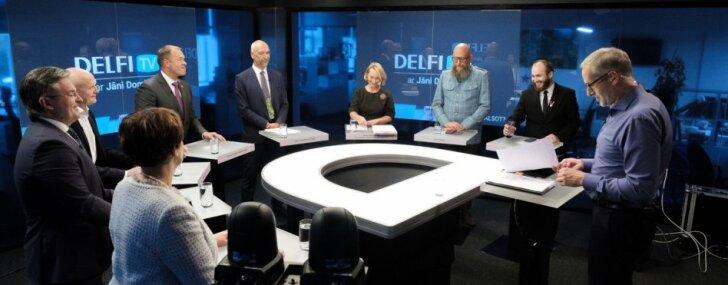 'Par ko balsot?' Kandidāti par kultūru, integrāciju un mediju politiku. Pilns ieraksts
