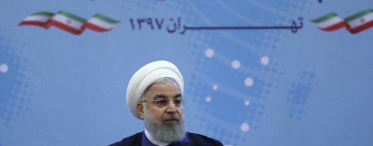 Konflikts ar Irānu būs 'visu karu māte', apgalvo Ruhani