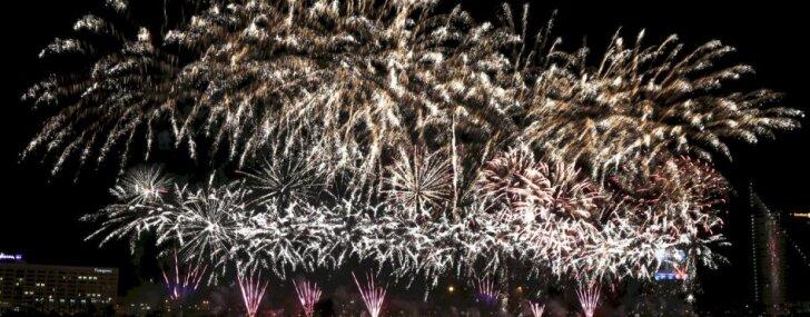 Новогодний фейерверк обойдется Риге в 25 187 евро