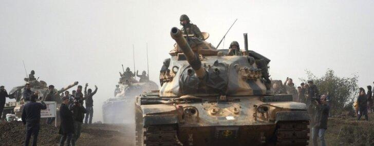Сирийские ополченцы при поддержке Турции захватили Африн