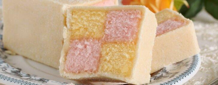 Biskvīta un marcipāna deserts ar vēsturi – Batenberga kūka