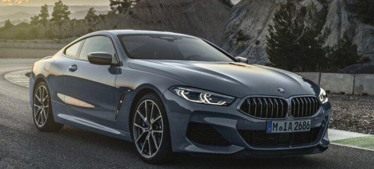 BMW prezentējis grezno 8. sērijas kupeju