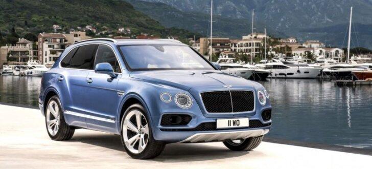'Bentley Bentayga' turpmāk arī kā visātrākais apvidnieks ar dīzeļdzinēju