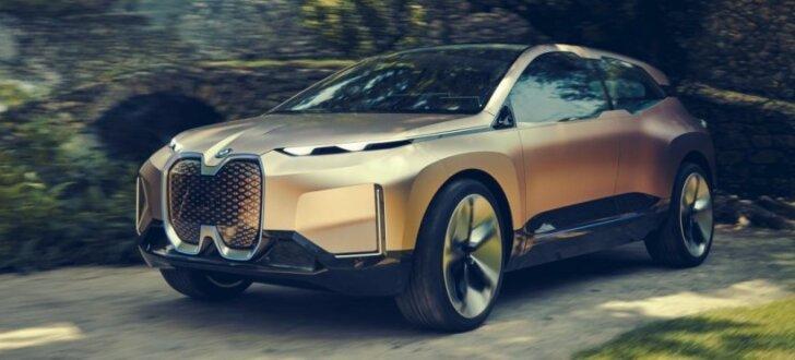 BMW parādījis sava elektriskā apvidnieka prototipu
