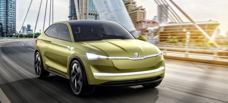 'Škoda' elektriskais apvidnieks 'VisionE'