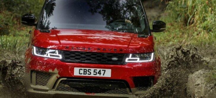Modernizētais 'Range Rover Sport' ieguvis arī hibrīda versiju