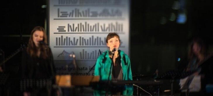 Sniedze Prauliņa Gaismas pilī prezentē albumu 'Inkrustācija'