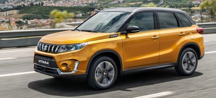 Modernizētais 'Suzuki Vitara' turpmāk tikai ar turbomotoriem