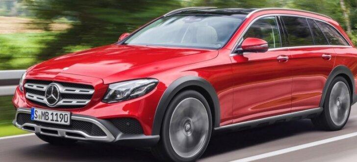 'Mercedes' debitē 'apvidus' universāļu segmentā ar 'All-terrain' E-klasi