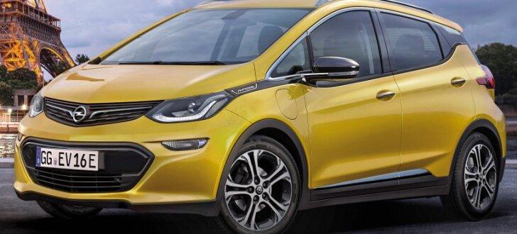 'Opel' rudenī prezentēs jauno elektromobili 'Ampera-e'