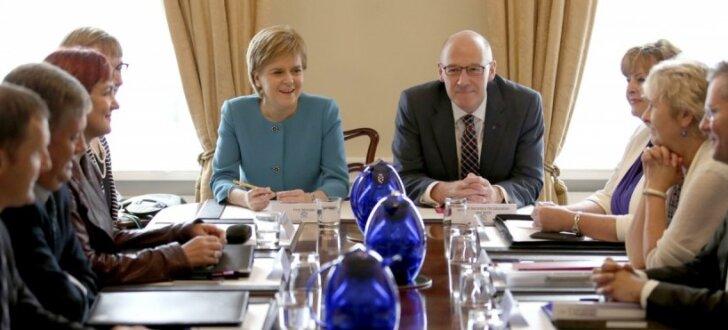 Skotija vēlas tūlītējas sarunas ar ES par savu vietu blokā