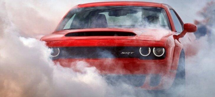 'Viņš jums ir Dēmons!' Ekstrēmais 'Dodge Challenger' ar 850 ZS