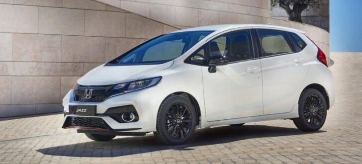 'Honda' modernizējusi 'Jazz' modeli