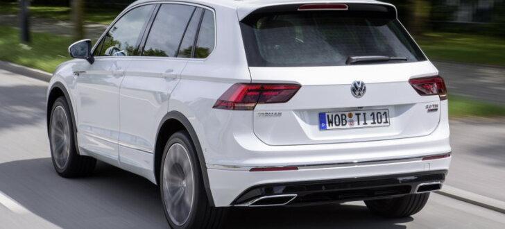 VW izziņojis 'Tiguan' jaudīgākās versijas