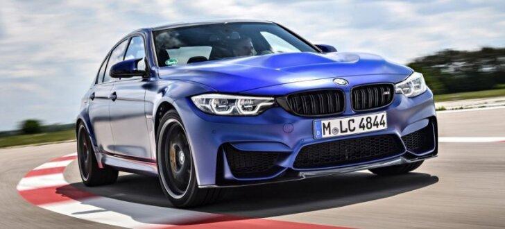 BMW no 'M3' atvadās ar speciālo versiju 'CS'