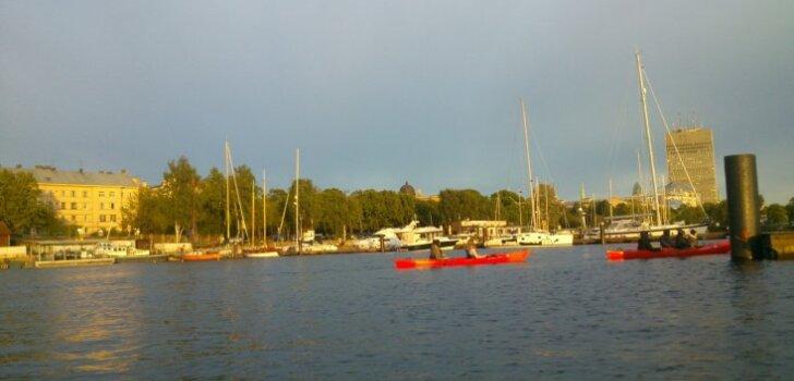 Ar laivu pa Rīgu. Cits skats uz tik pazīstamajām vietām