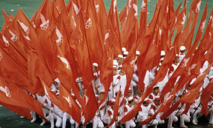 1980 год: Олимпийские победы, Рейган в США и