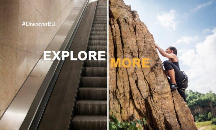 #DiscoverEU: astoņpadsmitgadniekiem būs pieejami 12 000 brīvbiļešu Eiropas atklāšanai