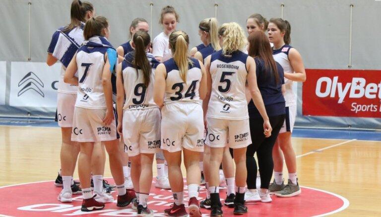 'Liepāja'/LSSS uzvar pirmo spēli bronzas sērijā