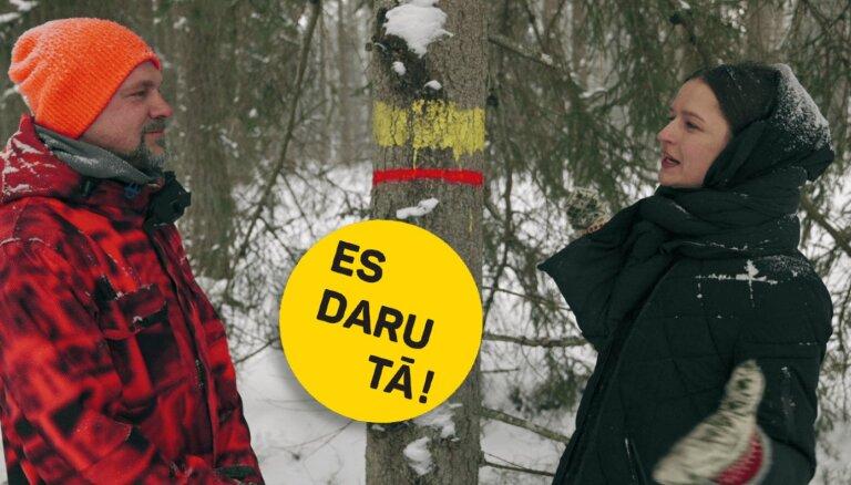 Video: Jānis Jubalts izved Madaru Botmani ekskursijā pa paša stādītu mežu