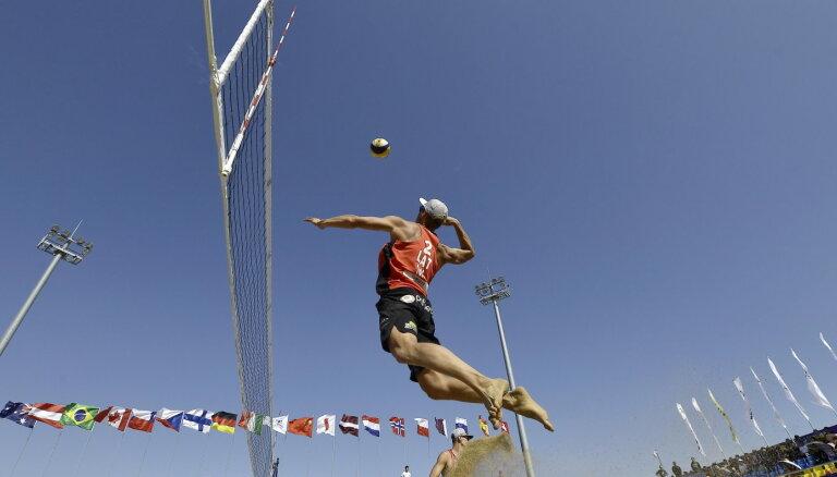 Latvija vēlas rīkot Eiropas čempionātu pludmales volejbolā
