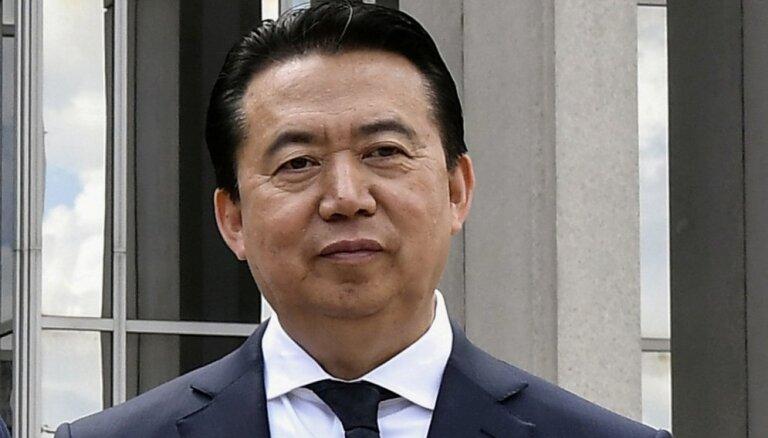 Pret bijušo 'Interpol' vadītāju uzsāks kriminālvajāšanu