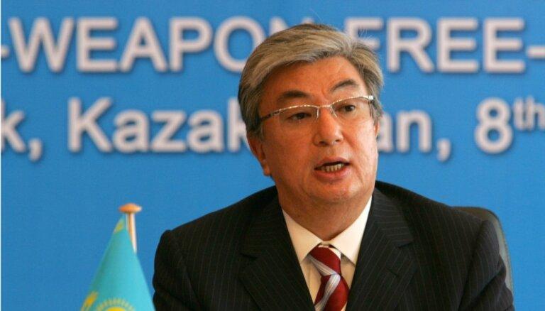 Kazahstānas parlaments atbalsta Astanas pārdēvēšanu par Nursultanu