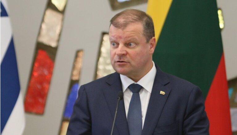 Lietuvas premjers piedāvā kļūt par Izraēlas balsi Eiropas Savienībā