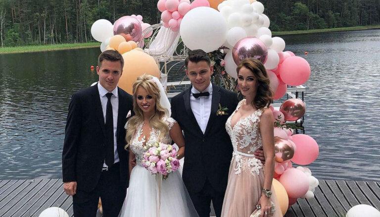 Privāti kadri: Apprecējies hokejists Edgars Kulda