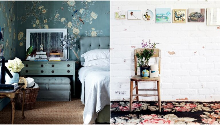 ФОТО. Цветочные мотивы в доме: примеры современного интерьера