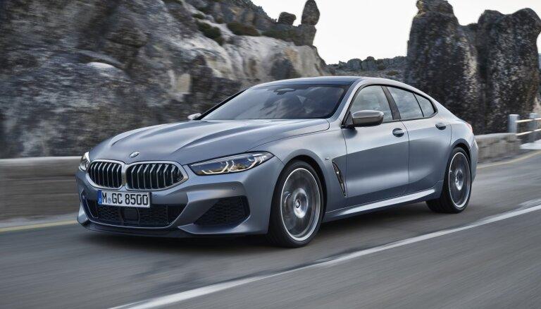 BMW 8. sērija ieguvusi četrdurvju versiju 'Gran Coupe'