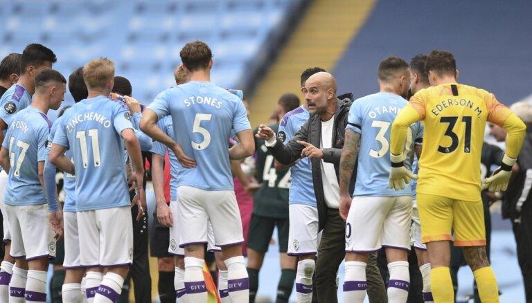 Pēc arbitrāžas tiesas lēmuma 'Manchester City' neizslēdz no UEFA turnīriem